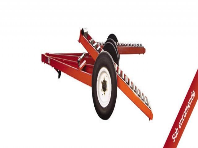 Harvester tractor y bulldozer
