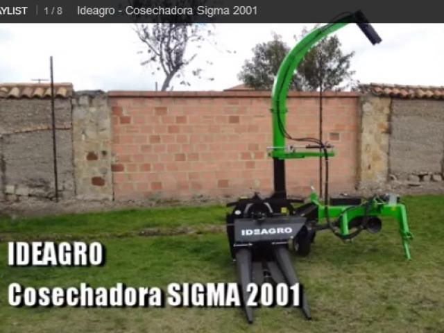 Cosechadora Sigma 2001